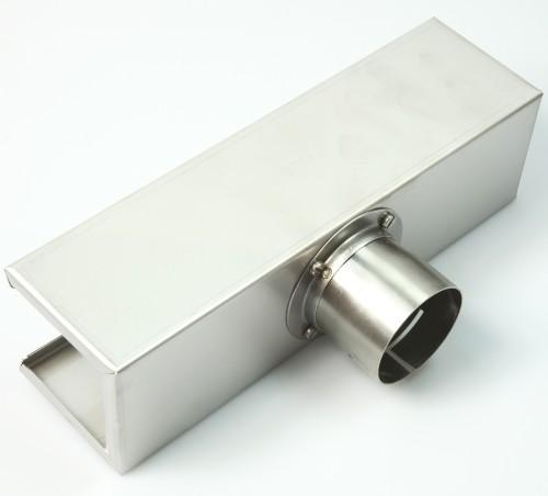 Skål reflektor, 45x250 mm